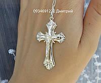 Серебряный крестик арт. 085, фото 1