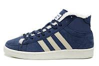 Зимние кроссовки Adidas Winter Originals blue