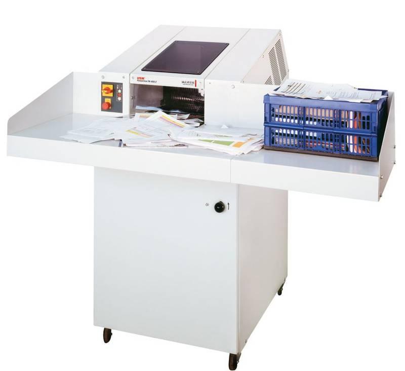 Мощный измельчитель документов перекрестного реза HSM FA 400.2 (5,8х50 мм).