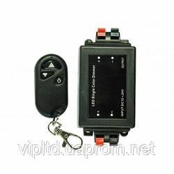 LED диммер 8A 96Вт12В 3 кнопки с управлением по RF каналу Ledex Premium