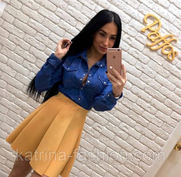 34c00244817f3 Женская стильная джинсовая рубашка Турция DILVIN: продажа, цена в ...