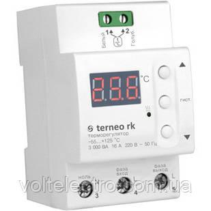 Терморегулятор ДІН -55...125*З 16А terneo rk