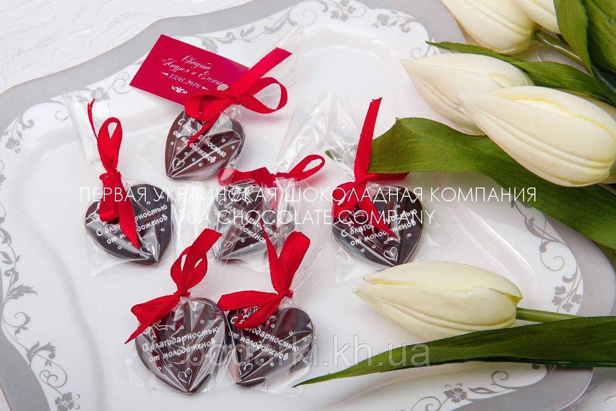 Подарки для гостей Сердце