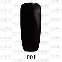 Гель-лак Adore Professional № 001 (черный), 9 мл ADR 001/96