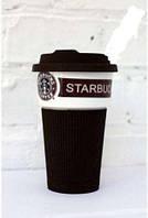 Чашка керамическая кружка Starbucks Brown 008