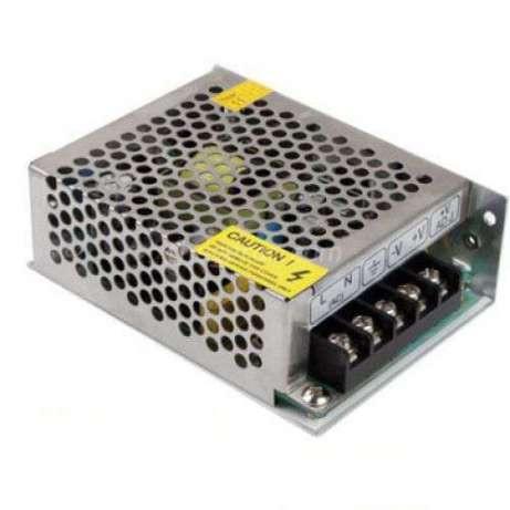 Блок питания адаптер 12V 5A S-60-12 Metall
