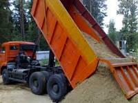 Доставка песка щебня чернозем глина грунт на подсыпку и т.д