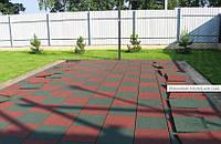 Резиновые покрытия напольные для сада и дачи