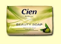 Мыло Cien Beauty Soap NATURAL OILS с маслом оливы