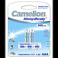 Аккумуляторы camelion r 03 2 штуки 900 mah ni-mh always ready (nh-aaa900Аrbp2)