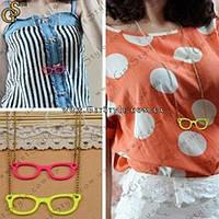 "Украшение на цепочке ""Fashionable Glasses"", фото 1"