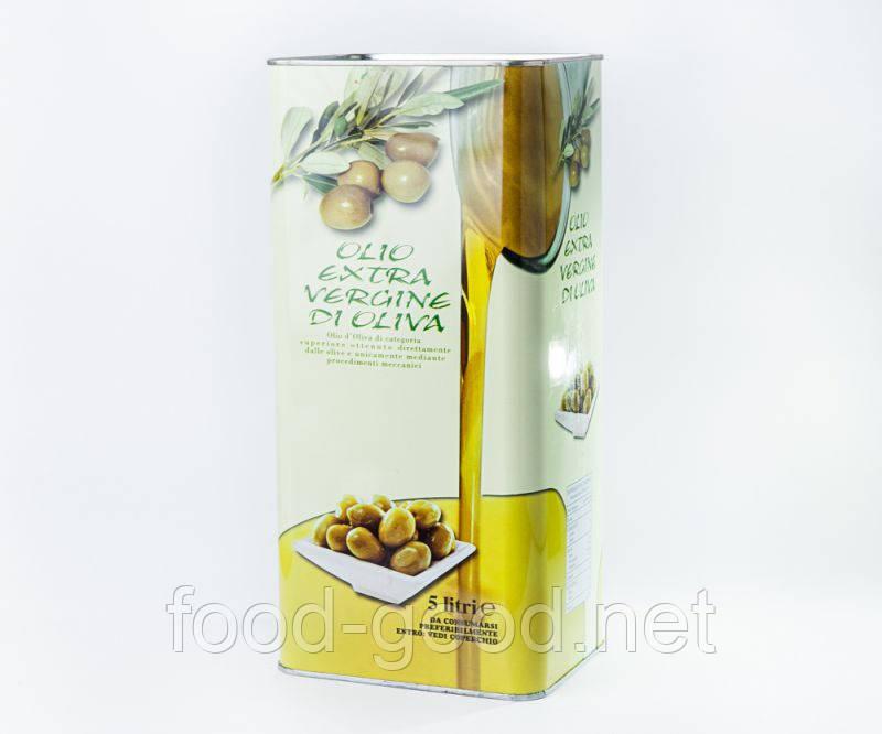 Итальянское оливковое масло, 5л.