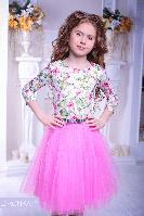 """Нарядное платье """"Весенний сад"""" Zironka"""