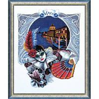 Набор для вышивки нитками 268. ВЕНЕЦИАНСКИЙ КАРНАВАЛ (ВЕНЕЦИАНСКАЯ НОЧЬ)