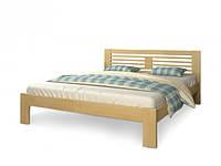 Ліжко односпальне з натурального дерева в спальню/дитячу Шопен (Сосна, Бук) Арбор Древ, фото 1