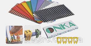 Маркировкадля кабеля 1,5х2,5 mm2 цифра (от 0 до 9) 400 шт/уп