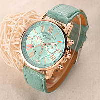 Женские часы Geneva Platinum бирюзовые