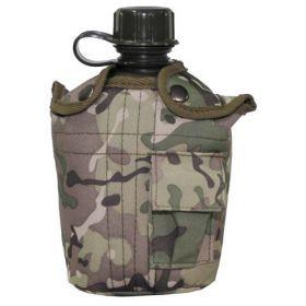 Фляга пластиковая для воды, 1 литр. MFH