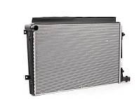 Радиатор VW Passat 03г.-> Cadi 3 Touran 1.9TDI 04->650*405 плоские соты 1K0121251AK