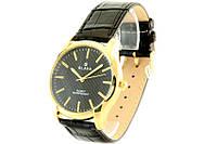 Мужские часы SLAVA 10049 (Золото с черным)