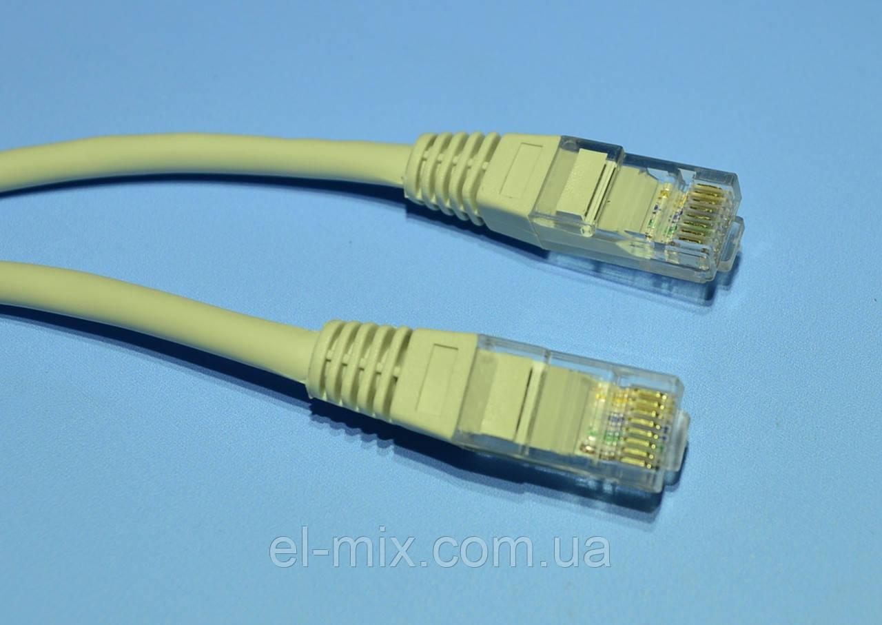 Шнур UTP patchcord CCA шт.RJ45 - шт.RJ45 Cabletech Eco-Line  2,0м  KRO4011-2,0