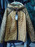 Куртка весенняя больших размеров ( Украина) 50-64 разм 2 цвета