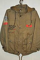 Модная куртка-парка на мальчика  34-42 р