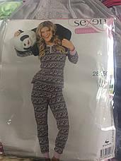 Женская пижама с длинным рукавом, фото 3