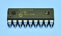 Микросхема PIC16F628A-I/P  dip18   Microchip