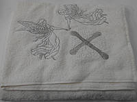 Крестильное полотенце (крыжма) 100*100 см.