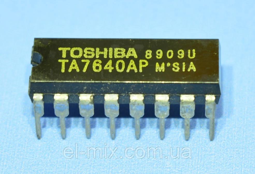 Микросхема TA7640AP  Toshiba
