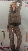 Женская пижама леопард