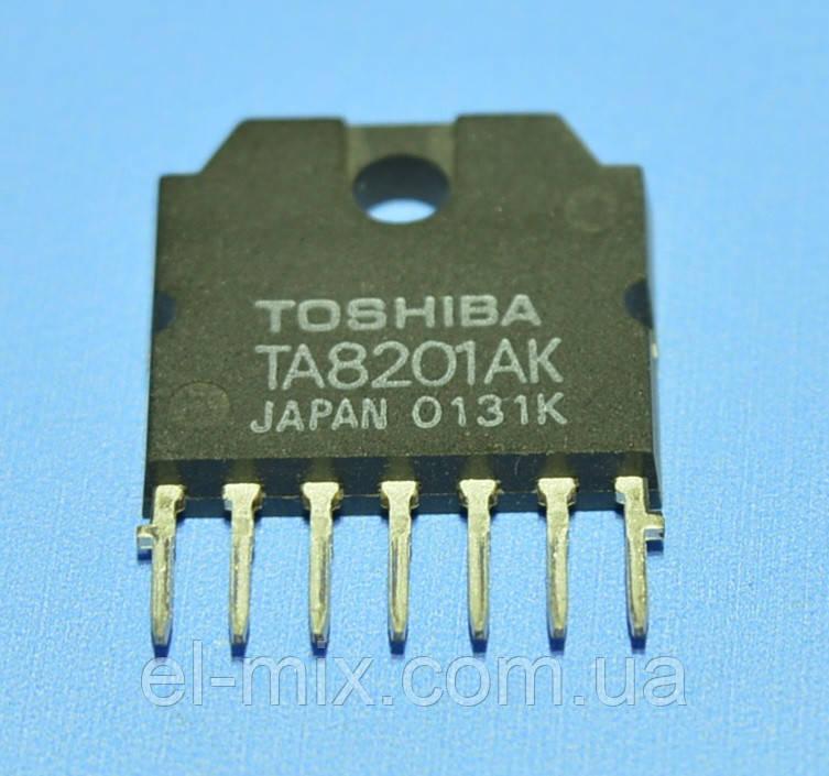 Микросхема TA8201AK  Toshiba