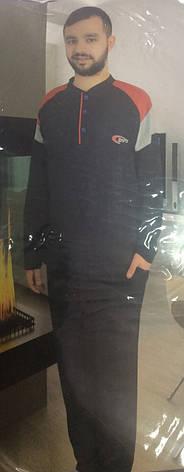 Мужская пижама на три пуговицы, фото 2