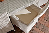 Обідній комплект меблів з ротанга, фото 4