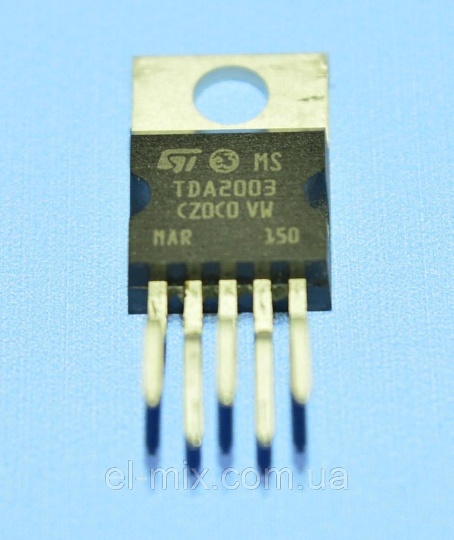 Микросхема TDA2003A  STM/China