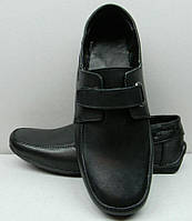 Мокасины-туфли детские-подростковые кожаные Uk0165