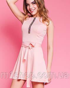 Платье с юбкой полусолнце | Вермут jd