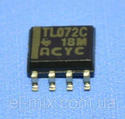 Мікросхема TL072CD so8 TI