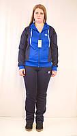 Модный женский спортивный костюм Adidas, большие размеры.