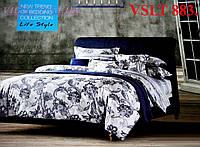 Постельное белье сатин люкс Tiare Вилюта. VSLT 883