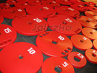 Млинці для штанги сталеві, внутр. діаметр 51 мм, 26 мм, 30 мм, 56 мм, якісна порошкове фарбування,, фото 1