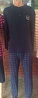Пижама мужская с темным верхом