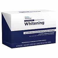 Отбеливающие полоски для зубов Crest 3D White Supreme Professional Whitestrips. Упаковка 42 стикера