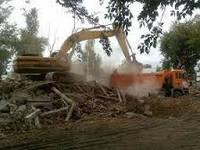 Демонтаж зданий, снос ветхих домов с вывозом строй мусора