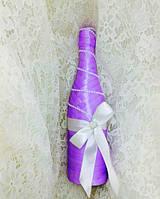 Свадебное украшение шампанского