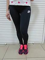 Женские спортивные лосины Найк (856611-2) синие код 054 Б