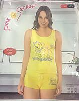 Пижама для девочек с шортами
