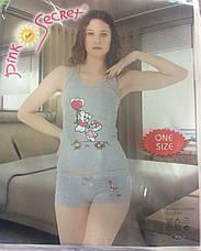 Пижама для девочек с шортами, фото 3