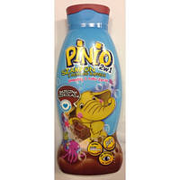 """Детский шампунь - гель 2 в 1 """"Pinio """"шоколад 500 мл"""